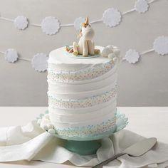 Whimsical Unicorn Cake
