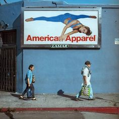 Photographer Captures American Apparel Ads In Their Gritty Natural Environment.
