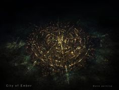 **fiction bucket list** from The City of Ember City Of Ember, Book Nerd Problems, Shot Film, Underground Cities, Matte Painting, City Landscape, Environment Concept, Believe In Magic, Place Names
