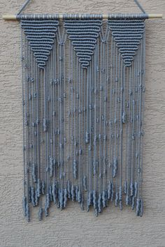 Your place to buy and sell all things handmade - Home Decorative Macrame Wall Hanging от Mrcolmar на Etsy Best Picture For diy decor For Your - Etsy Macrame, Macrame Art, Macrame Projects, Handmade Home, Art Macramé, Macrame Curtain, Macrame Design, Macrame Patterns, Knots