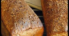 Whole Wheat Bread Great Recipes, Favorite Recipes, Whole Wheat Bread, Pan Bread, Polish Recipes, Healthy Baking, I Love Food, Banana Bread, Food And Drink
