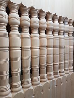 Love the pattern on these custom porch posts.