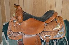 Circle Y Equitation Silver Bronze Horse Head Western Saddle Headstall n BC