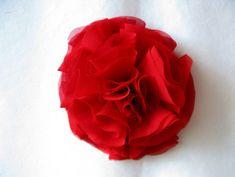 DIY Chiffon Flower