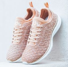 These Rose Gold Sneakers Are Selling Out For a Very Good Reason