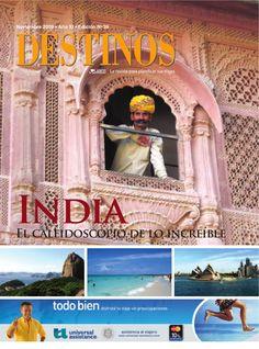 Revista Destinos Nº39  Revista de viajes y turismo.