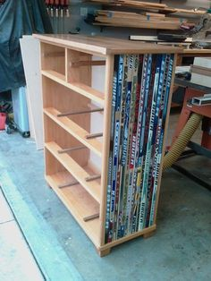 Hockey Stick Dresser - by firecycle @ LumberJocks.com ~ woodworking community