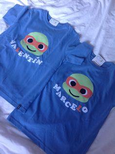 Camisetas personalizadas para un  cumpleaños