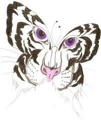 Afbeeldingsresultaat voor tiger butterfly tattoo