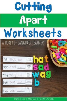 Learn tips about cutting apart worksheets to help students tay engaged in a new way. This is an easy way to provide differentiation, sue interactive notebooks, and provide repated practice.
