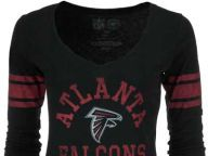 Buy Atlanta Falcons '47 Brand NFL Womens Homerun Long Sleeve T-Shirt T-Shirts Apparel and other Atlanta Falcons products at Lids.com