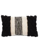 Cotton Material Pillows in Black color