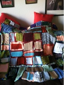 Treasures Made From Yarn: Participating in Blue Monday Free Knitting, Crocheting, Knit Crochet, Crochet Patterns, Throw Pillows, Blanket, Projects, Crafts, Blue
