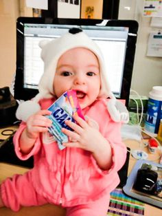 Even babies love Calm! #naturalcalm #calm #babies #stressless #stressfree #relaxed