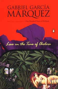 Love in the Time of Cholera by Gabriel García Márquez. Penguin Books, Fiction, 1989. Cover artist not listed