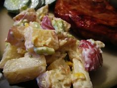 PinQuest - Revealing The Truth About Pins For You!: Potato Salad with Country Ranch Dressing