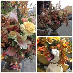 Silk flowers for events and home decorating from SHISHI Home of Beauty. Visit www.shishi.lv