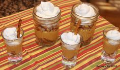 No Bake Pumpkin Pie in a Jar   v (--)