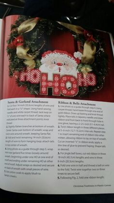 Ho Ho Ho Wreath 1/3