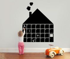 DIY Black Board    littleyears