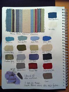 Annie Sloan Chalk Paint-Color Charts on Pinterest | Annie Sloan Chalk ...