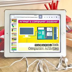 Have you read Arthur's Computer Disaster? I just love using it as an intro to the computer rules. My students practice both tech and ELA skills by answering some questions about the story in a digital journal