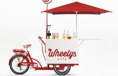 移動販売の革命児!ミニマルでエコカワいい自転車カフェ「Wheelys2.0」