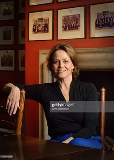 Sigourney Weaver poses for portrait before addressing The Cambridge Union on May 4, 2016 in Cambridge, Cambridgeshire.