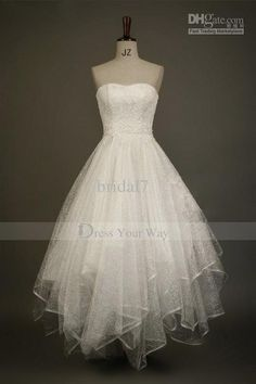 Wholesale Lovely 2013 Scoop Summer Beach Wedding Dress Short Ruffles Lace Trimmed Pearls Adorned Gowns DZ027, Free shipping, $123.2~134.4/Piece | DHgate Mobile