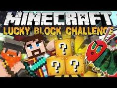 Minecraft: GAMINGWITHJEN SUPER LUCKY BLOCK CHALLENGE GAMES - Lucky Block...