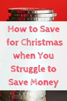 If you really struggle to save for Christmas here are my tips for getting started early, finding gifts for free and not spending your savings pot.