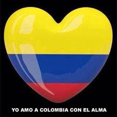 Yo Amo A #Colombia Con El Alma