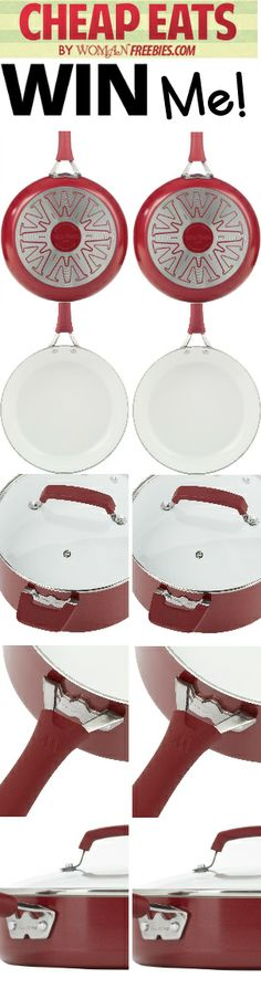 Win A Red 10-Piece Cookware Set End July 9