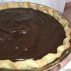 Double Chocolate Pie Allrecipes.com