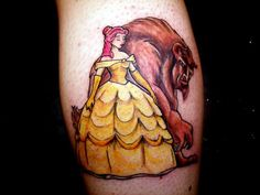 Beauty and the Beast #DisneyTattoo