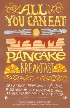 pancake feed flyer - Google Search