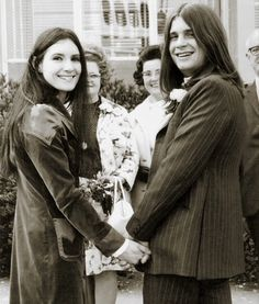 Ozzy Osbourne married first wife Thelma Riley in 1971. He adopted her toddler son at the time and they had two additional children together before their divorce in 1981. He married his manager, Sharon Arden in 1982. They have been together more than 32 years and have three kids together: Aimee, Kelly and Jack.
