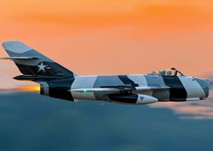 A Mig-15 all decked out-