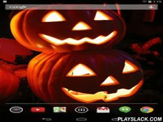 Jack-O-Lanterns Live Wallpaper  Android App - playslack.com , A jack-o'-lantern is typically a carved pumpkin. It is associated chiefly with the holiday of Halloween and was named after the phenomenon of strange light flickering over peat bogs, called ignis fatuus or jack-o'-lantern. In a jack-o'-lantern, typically the top is cut off, and the inside flesh then scooped out; an image, usually a monstrous face, is carved onto the outside surface, and the lid replaced. It is typically seen…