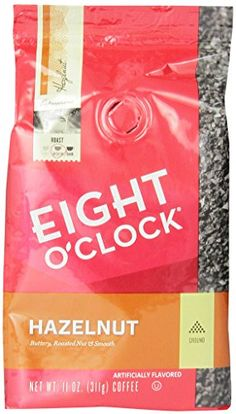 Eight OClock Ground Coffee Hazelnut 11 Ounce Pack of 6 * This is an Amazon Associate's Pin. Clicking on the VISIT button will lead you to find the item on Amazon website