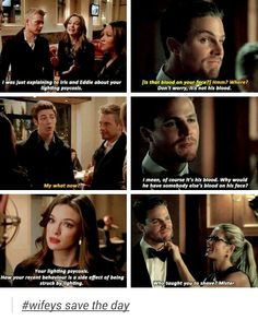 #Snowbarry and #Olicity parallels
