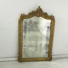 Gilded Grace Wall Mirror