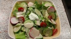 Leckeres Salatdressing für alle Blattsalate 1