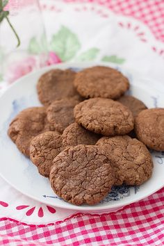 Cokies d nutella Cookies Receta, Biscotti, Sweet Recipes, Cookie Recipes, Yummy Food, Baking, Desserts, Html, World