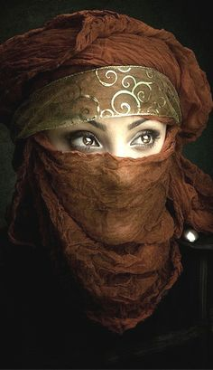 Beautiful Muslim women with Niqab