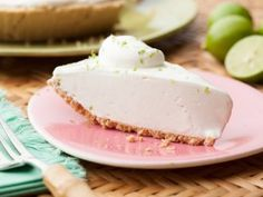 Terry's Famous Homemade Key Lime Pie from CookingChannelTV.com