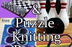 Games Knitting Patterns