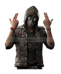 Watch Dogs 2 Wrench Dedsec Leather Vest  Buy and Get Amazing Free Gift in Christmas Happy Holidays.  Don't miss this deals on our quality Jackets!  #christmas #bigsale #happdeals #deals #christmasoffers #offers #free #gifts  Shop now ===>>> https://goo.gl/lxKUpq