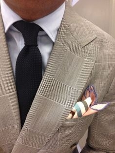 Colourful pocket square