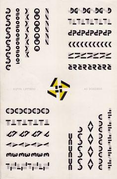 Someblog (or other): Adolphe Mouron Cassandre - Bifur promotional brochure